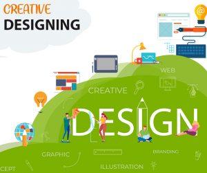 Creative design banner copy